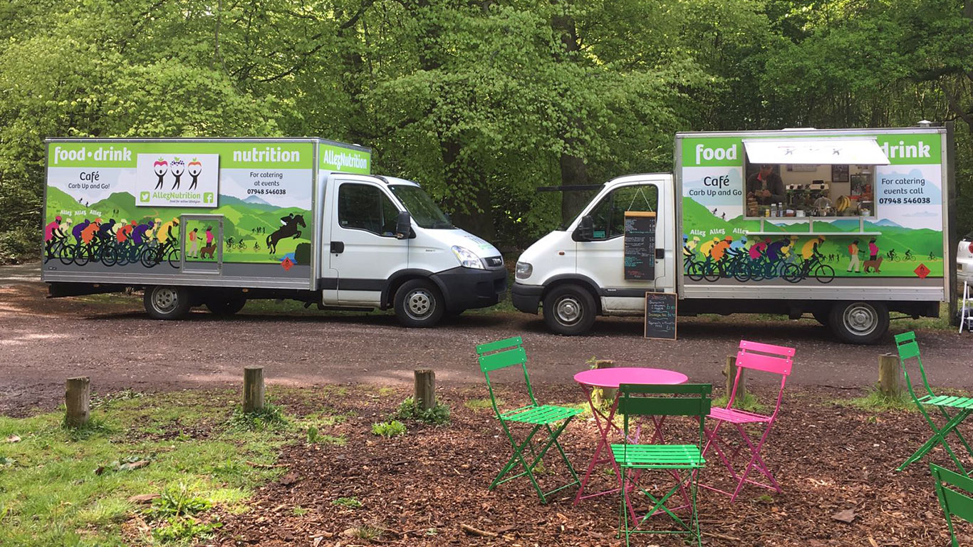 Catering Vans - AllezNutrition Mobile Catering