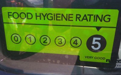 Food hygiene rated 5